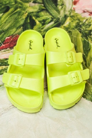 Steal My Sunshine Sandals