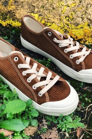 Play The Cords Sneaker-Tan
