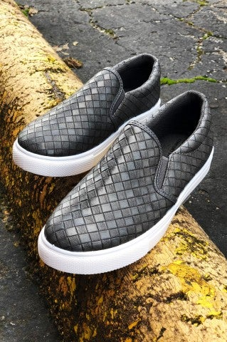 Almost Home Slip On - Grey