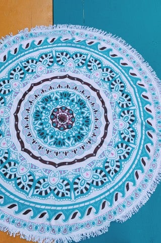 Paisley Beach Towel