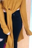 The Knot Sweater- Mustard