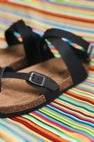 Ocean City Sandal - Black