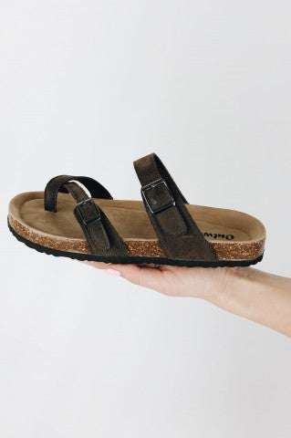 Cali Baby Sandal - Brown