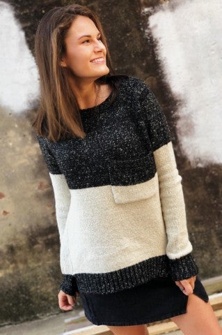 The Smokies Sweater - Charcoal