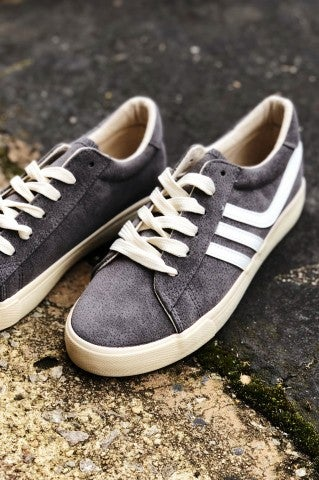DoorBuster - Retro Low Top Sneaker - Grey