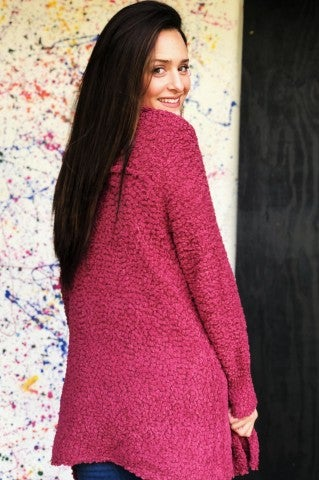 Blossom Sweater - Berry