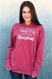 Have Yourself A Merry Little Christmas Hooded Tee