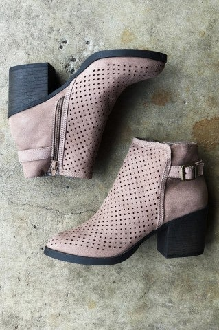 Lost In You Boot - Light Taupe