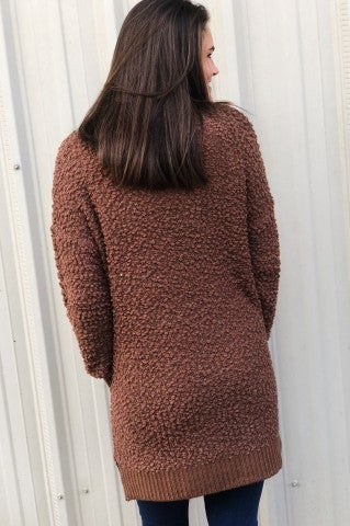 Feel The Chill Sweater - Mocha