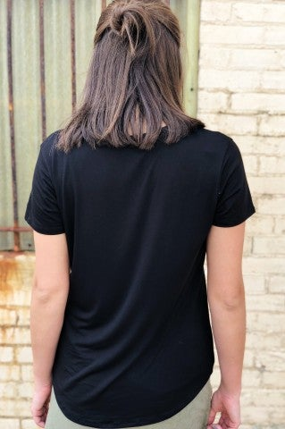 Let You Down Tee - Black