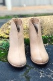 Mid Rise Bootie - Taupe