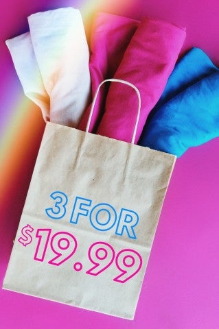 3 For $19.99 Surprise Tee Grab Bag