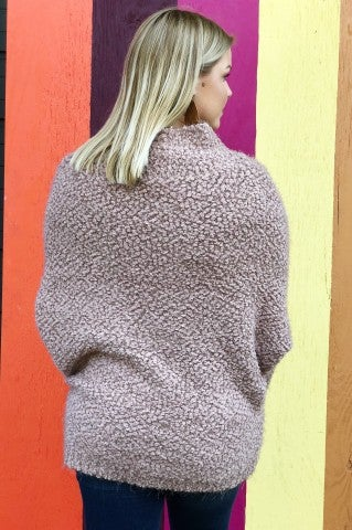 Snuggle Up Sweater - Taupe