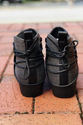 Tacoma Bootie- Black