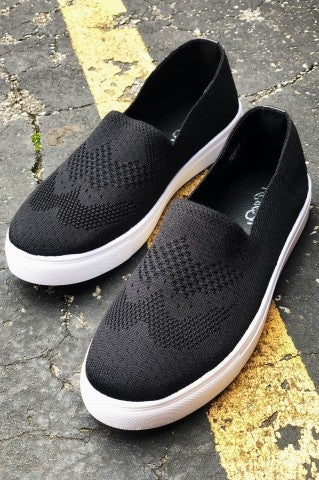Doorbuster - Evelyn Slip on - Black