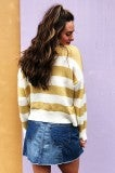 No Shade Sweater - Mustard