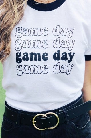 Game Day Ringer Tee