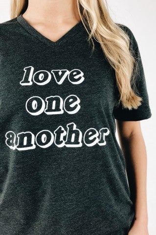 Love One Another Statement Tee