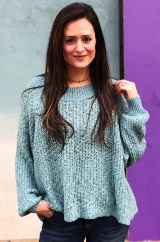 Blue Lagoon Sweater