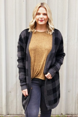 Charcoal Nights Cardi
