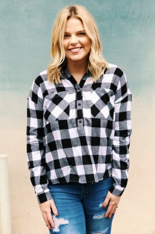 Doorbuster-Firestone Plaid Flannel