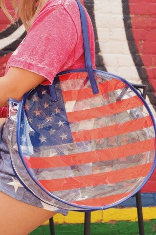Independence Day Beach Bag
