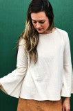 Long Haul Bell Sleeve - Natural