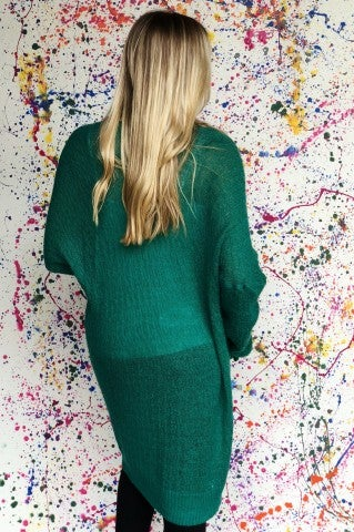 Little Talks Cardigan - Green