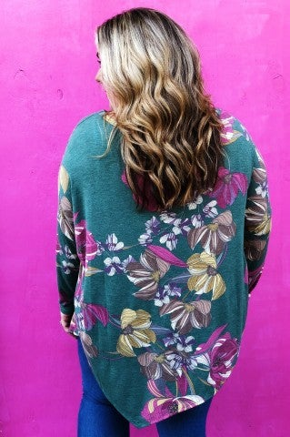 Lilly Garden Top- Plus