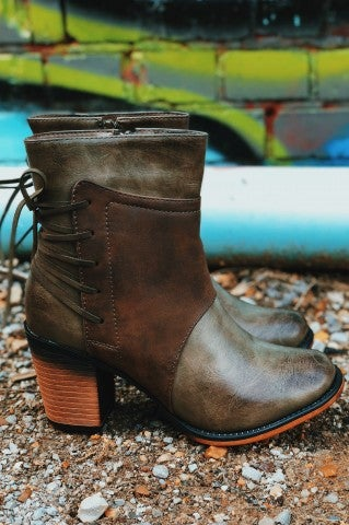 Little Tahoma Bootie - Olive