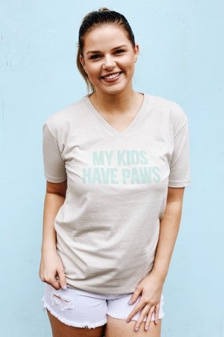 My Kids Have Paws Tee