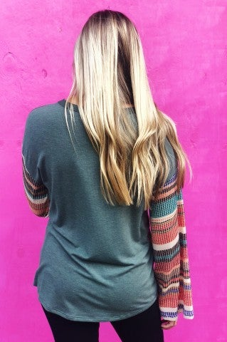 Ragdoll Knit Top - Olive