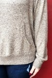 Without Me Pullover - Taupe
