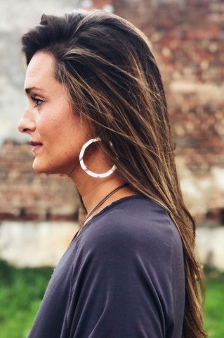 Feeling Wavy Earring - Silver