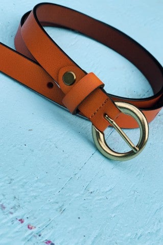 Thin Line Brown Belt