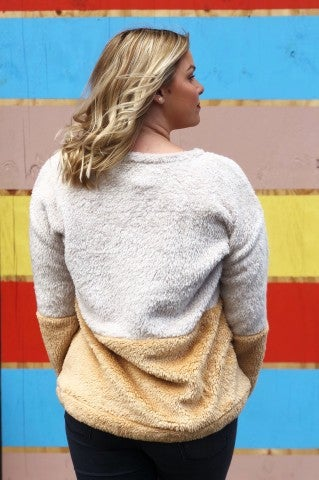 Better Way Sweater - Mustard