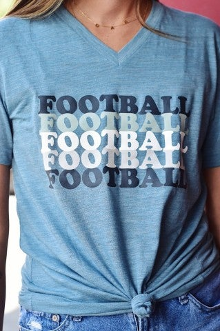 Football x5 - Denim