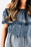 Easy does It Denim Romper