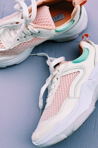 Peachy Keen Tennis Shoe