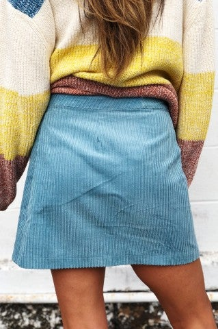 Corduroy Me Up Skirt
