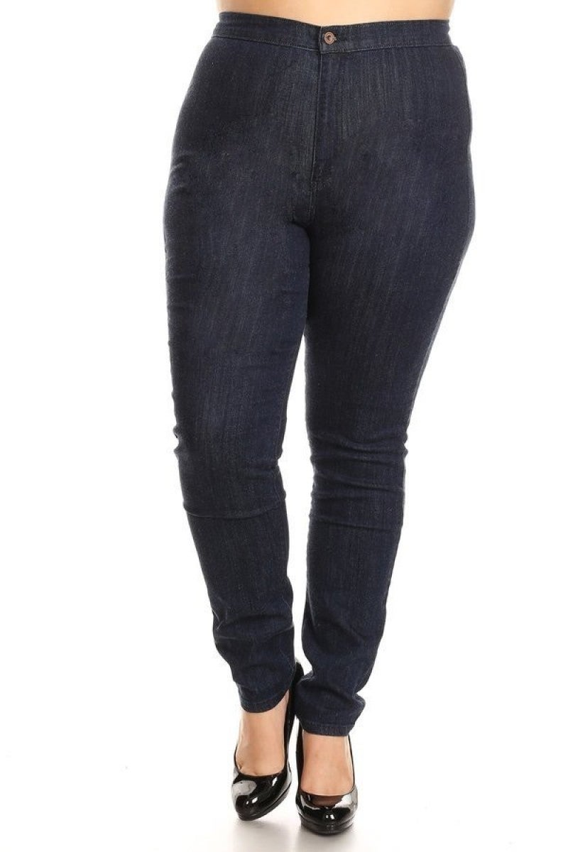 The Carly Dark High Rise Skinny Jeans - 12-20
