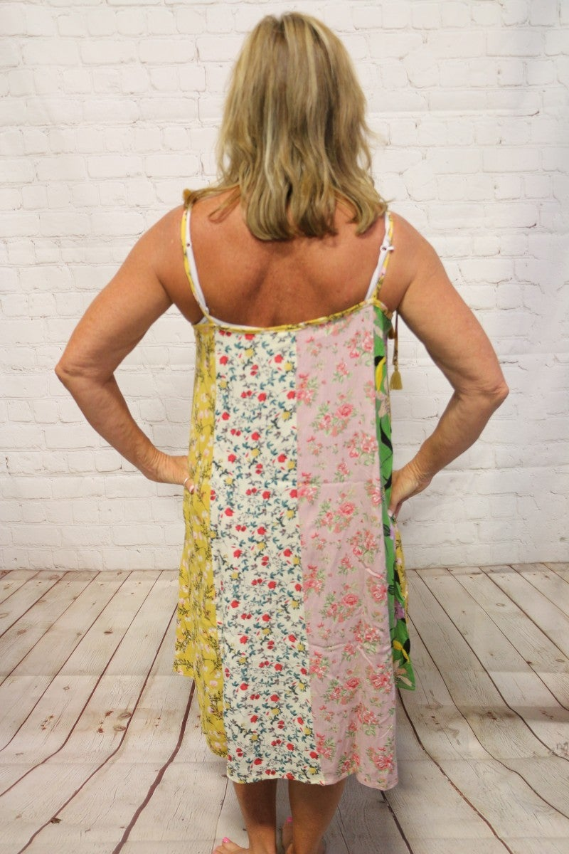 Summer Mix & Match Floral Print Dress - Sizes 4-20