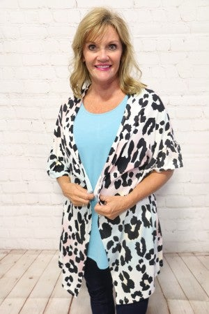 Just Found Out About You Leopard Print Cardigan in Multiple Colors ~ Sizes 4-20