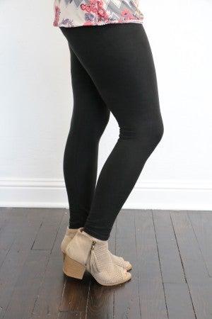 Full Length Fleece Leggings - Multiple Colors - Sizes 4-12