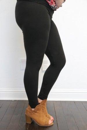 Full Length Fleece Leggings - Multiple Colors - Size 12-20