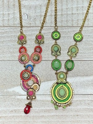 Tammy's Throwback Necklace in Multiple Colors
