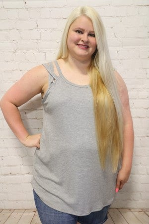 Summer's Here Two Strap Tank Tunic in Multiple Colors ~ Sizes 12-20