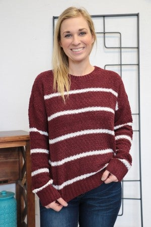 Got It Together Striped Chenille Sweater Sizes 4-10