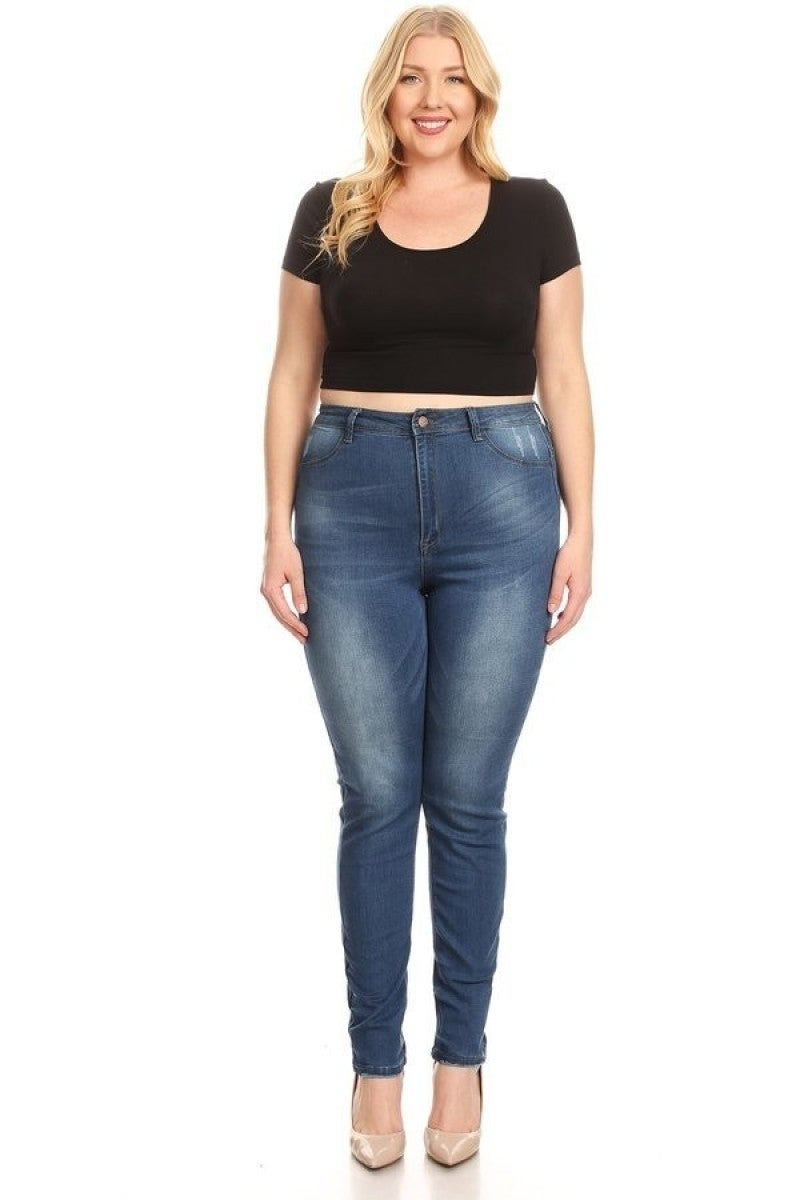 The Jasmine High Rise Skinny Jeans - Sizes 12-20