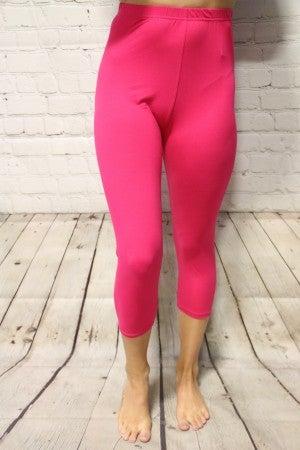The Paige Super Soft Lined Capri Leggings- Multiple Colors -Sizes 4-20
